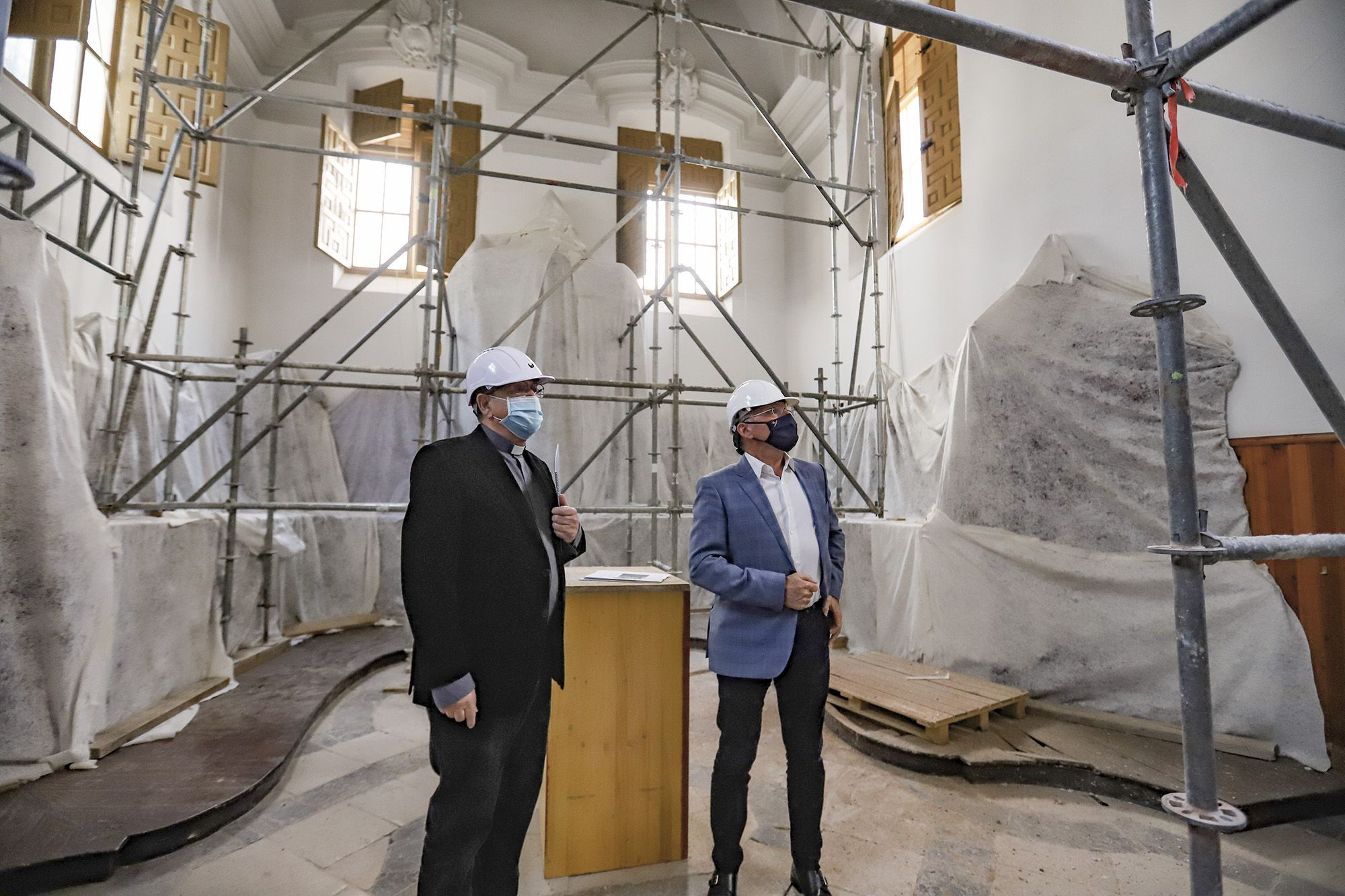 La iglesia de las Santas Justa y Rufina de Orihuela, será rehabilitada