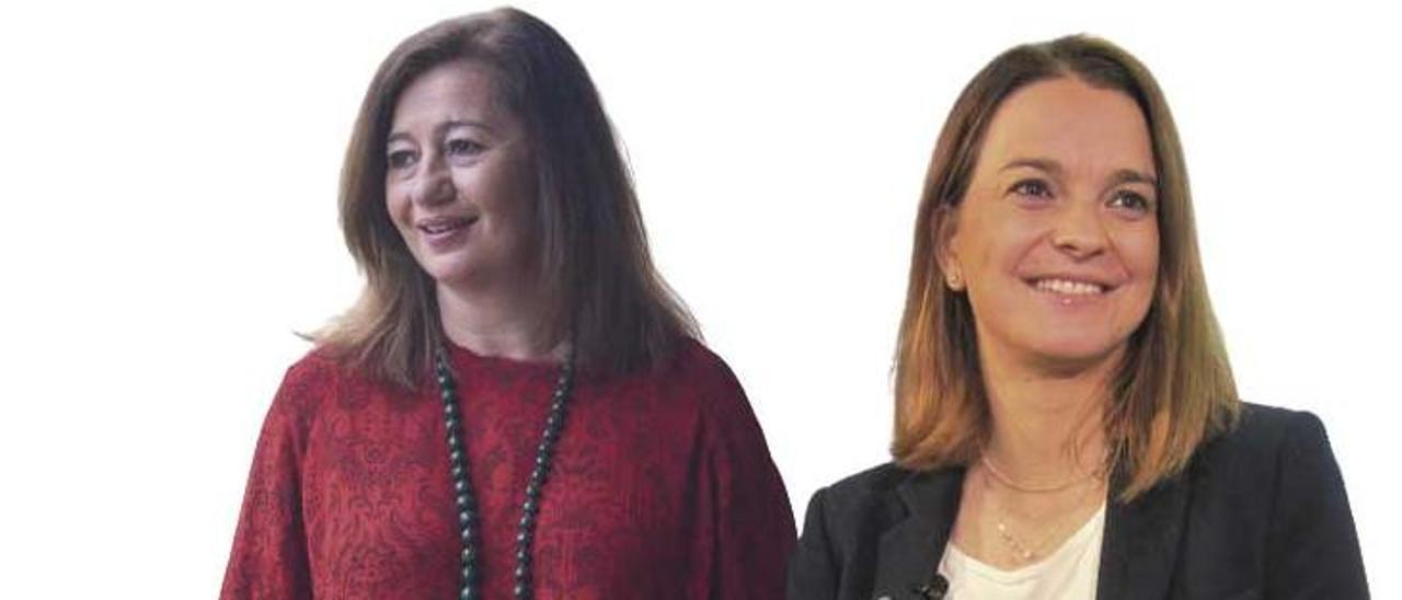 Entre Francina Armengol y Marga Prohens anda el juego