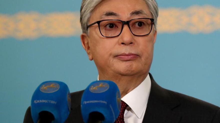 Tokáyev gana las elecciones presidenciales en Kazajistán