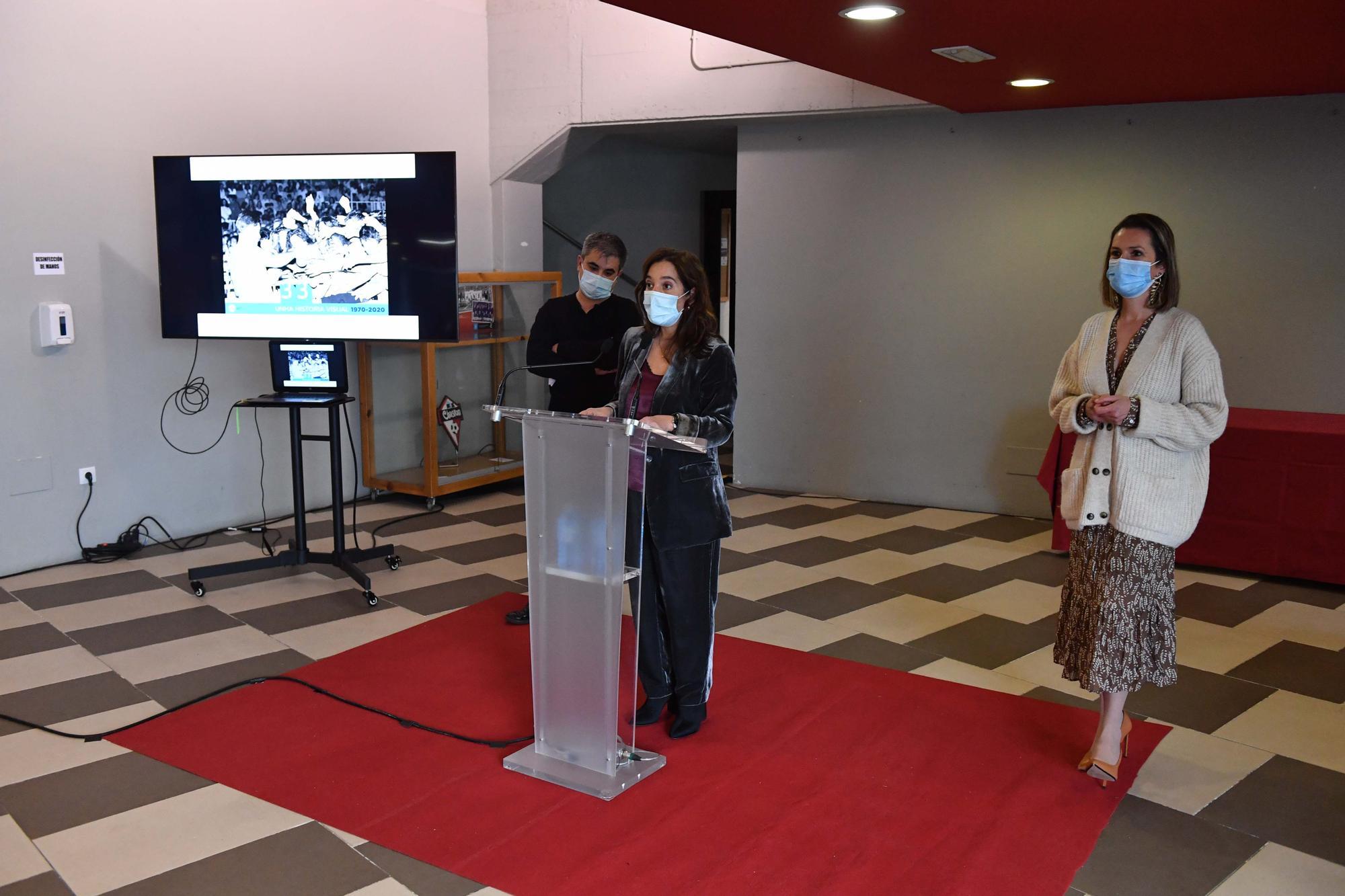 El Palacio de los Deportes de Riazor celebra su 50 aniversario