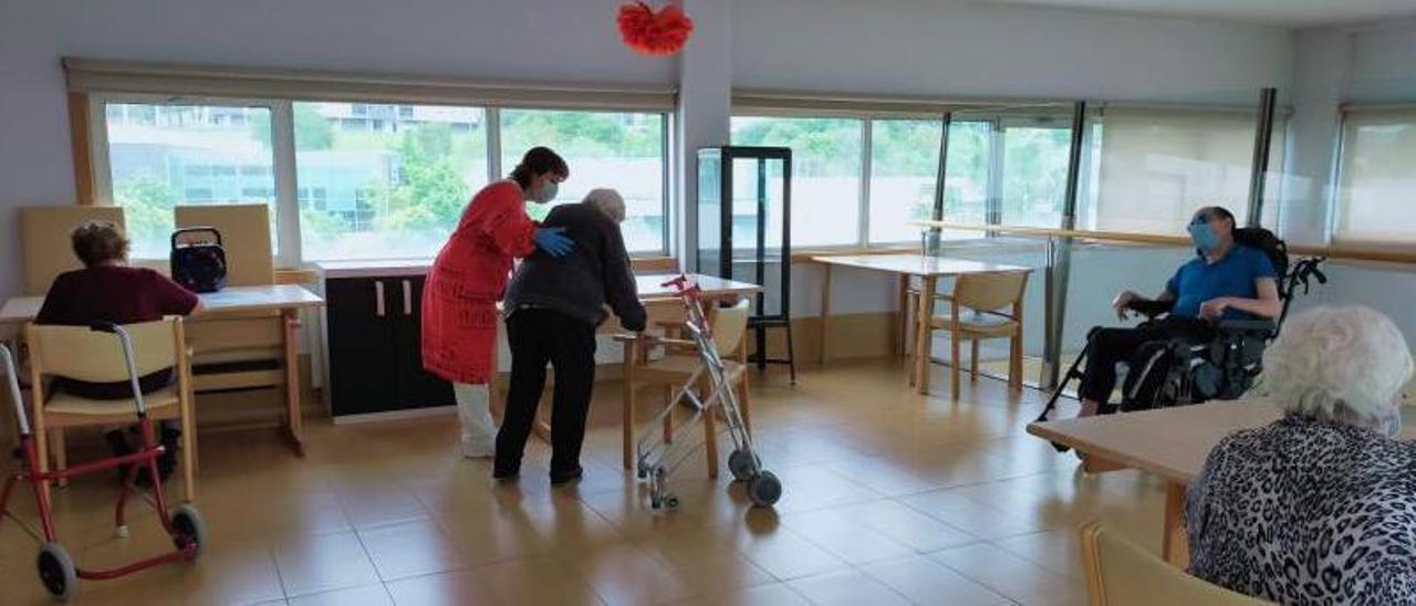 Una residencia de ancianos. |  // FDV