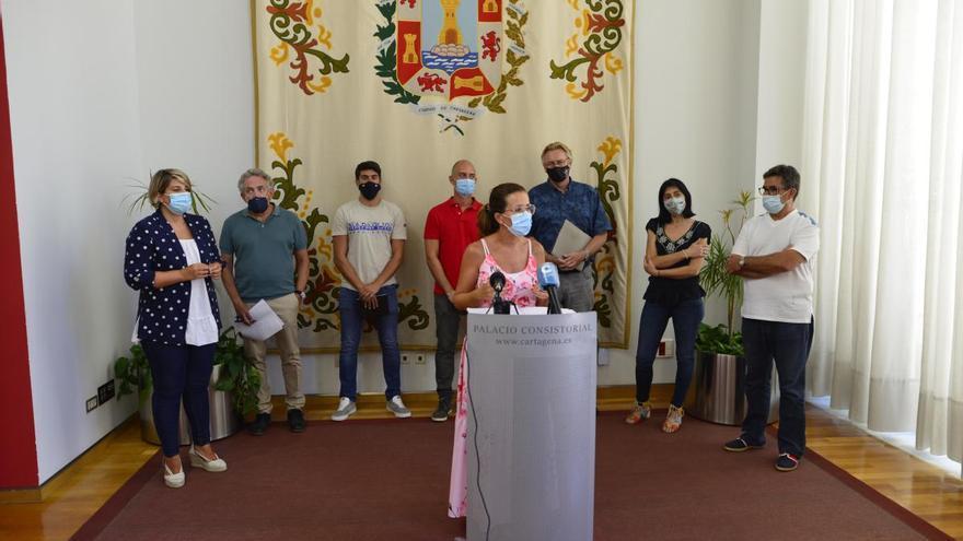 Cartagena asume la retirada de lodos y adjudicará en otoño el proyecto