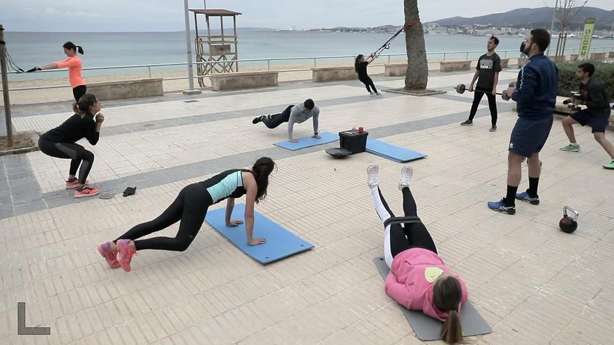 Gimnasios al aire libre en Palma