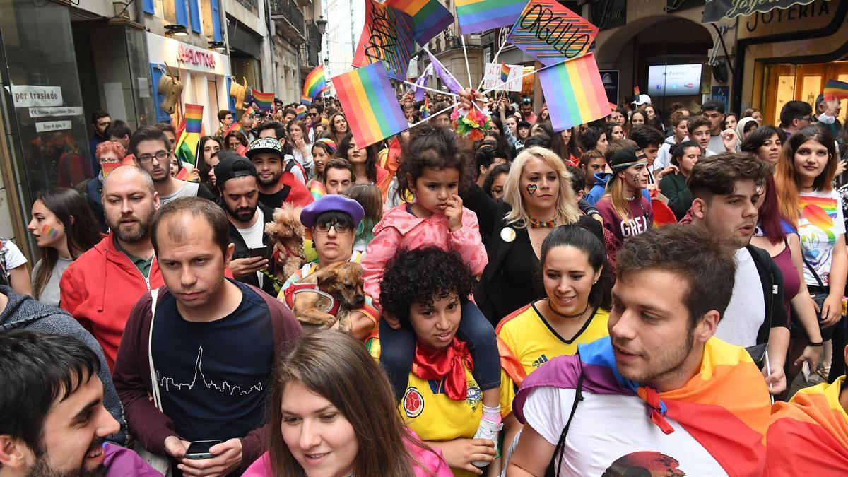 Manifestación del Orgullo en años anteriores
