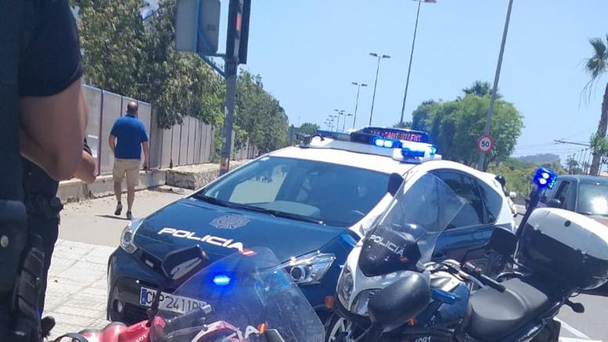 Detenido en Alicante tras llevarse el dinero de la caja registradora de un hotel y huir en una moto robada