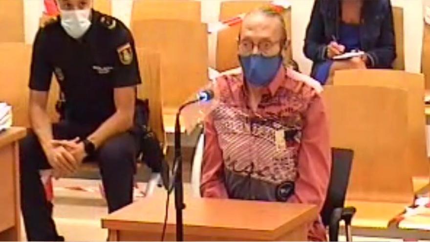 """Francisco en el juicio de la """"viuda negra"""": """"La Policía vino me tiró al suelo y no me dejó explicar nada"""""""