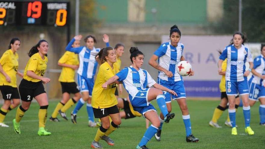 El Deportivo Abanca arrolla al Llanera en Arteixo (16-0)