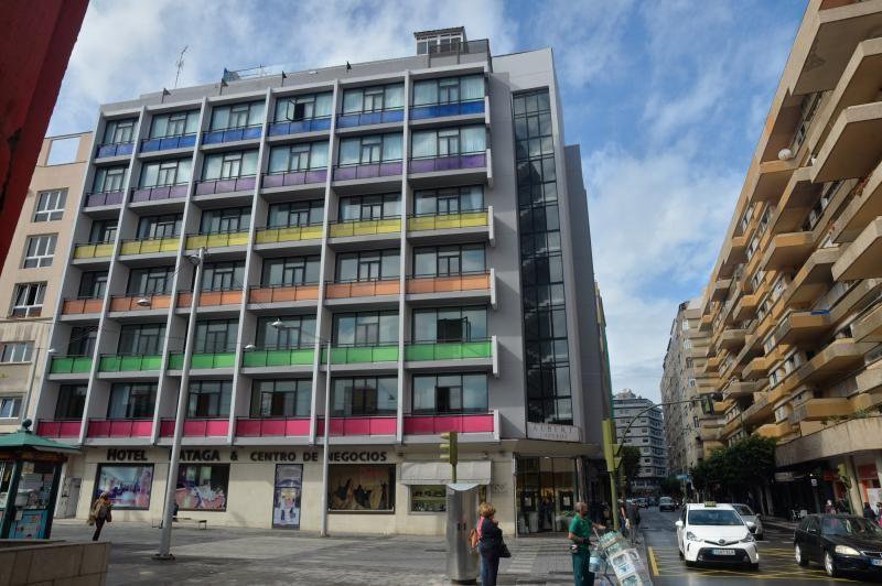 El hotel Fataga reabre sus puertas