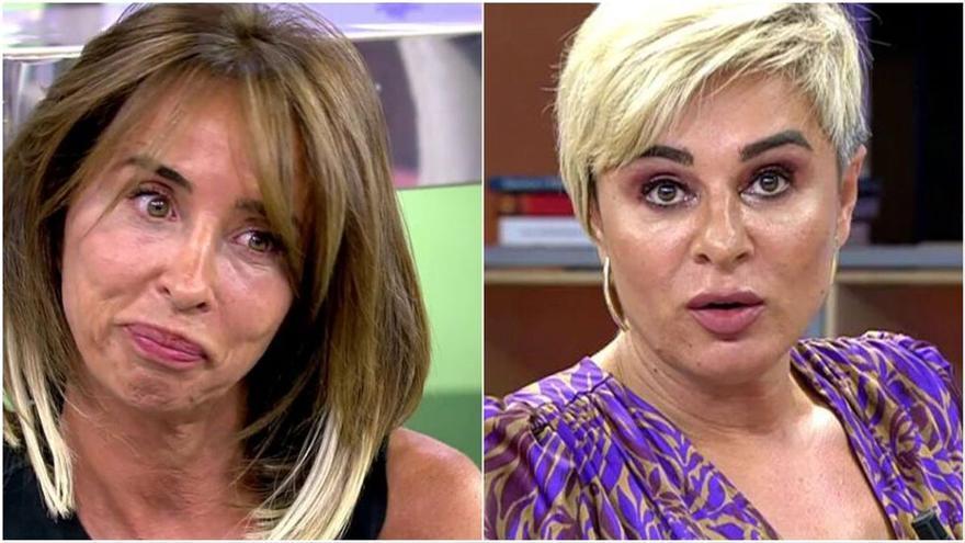 """Ana María Aldón advierte a María Patiño: """"Has acusado a mi marido de maltratador, vas a tener problemas"""""""