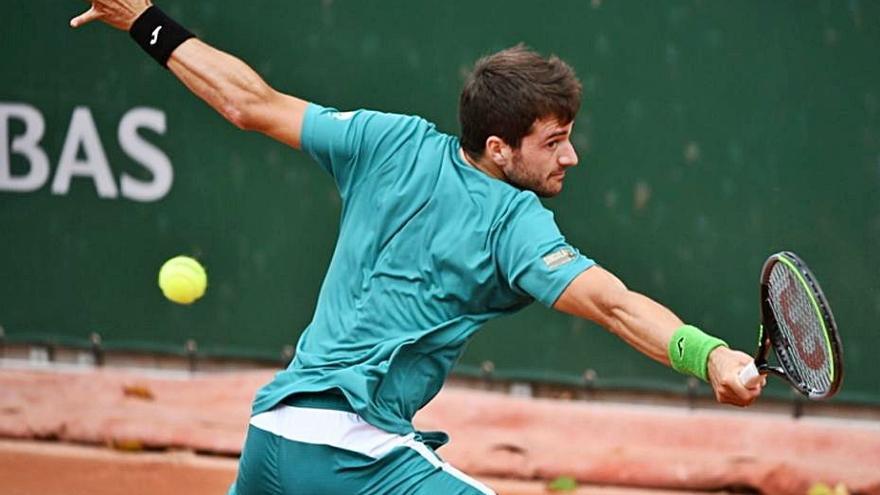 Pedro Martínez Portero cae derrotado en el ATP 250 de Sofía pero sigue en dobleS