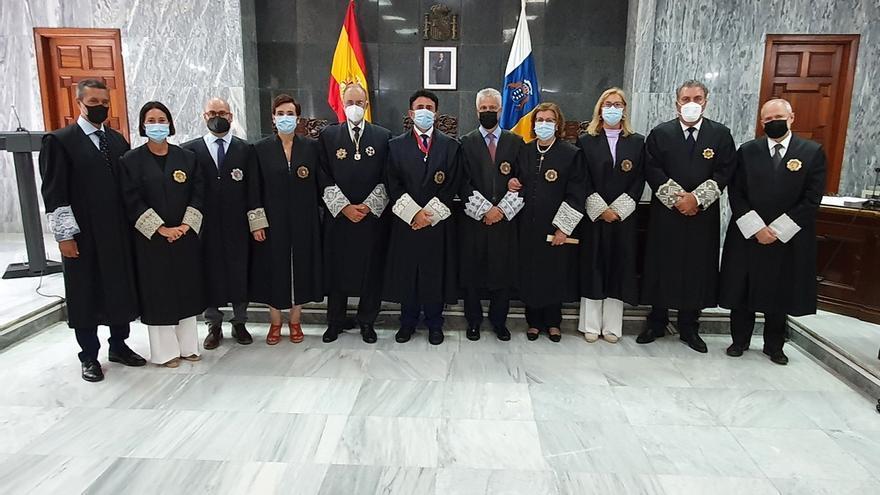El TSJC alerta sobre el «panorama preocupante» de Canarias por la crisis