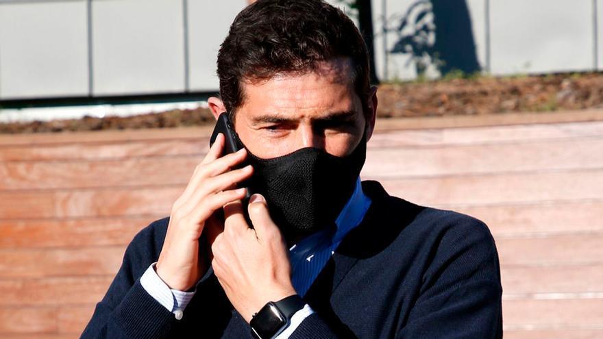 Iker Casillas habla por fin de la imagen más comentada de Sara Carbonero con Kiki Morente