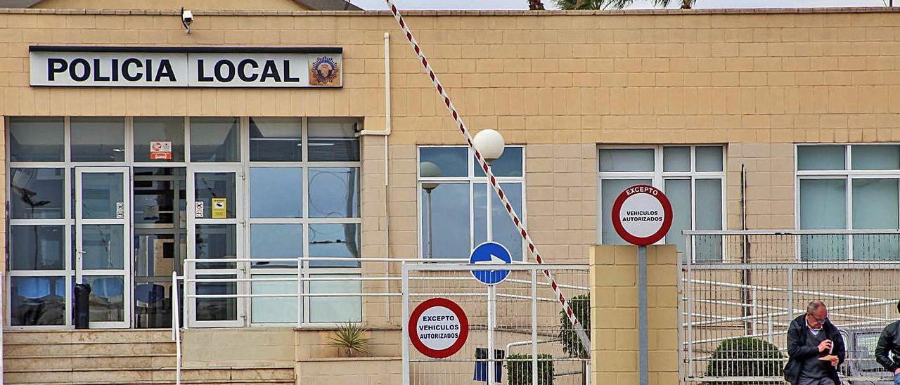 La jefatura de la Policía Local de Torrevieja.