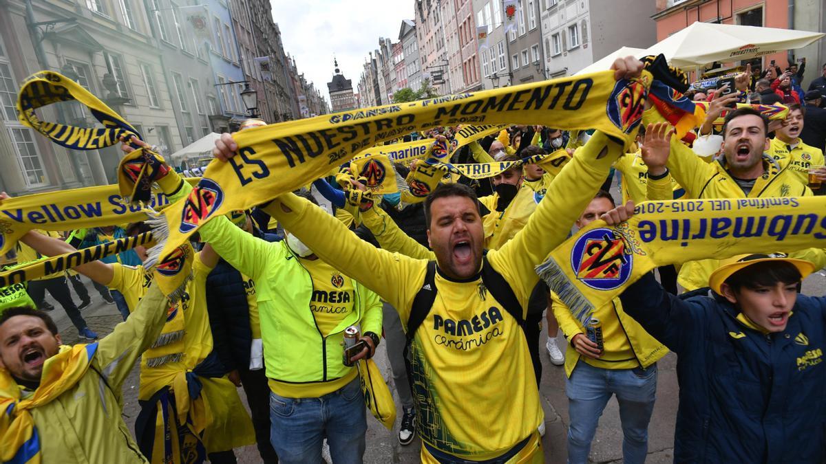 La afición del Villarreal podrá viajar a Belfast como ya hizo a Gdansk.