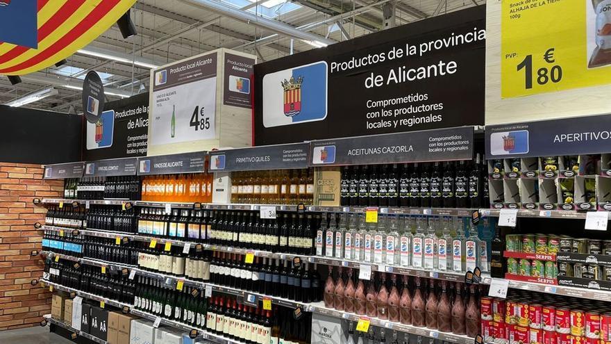 Carrefour firma un convenio de colaboración con los productores de vino de Alicante
