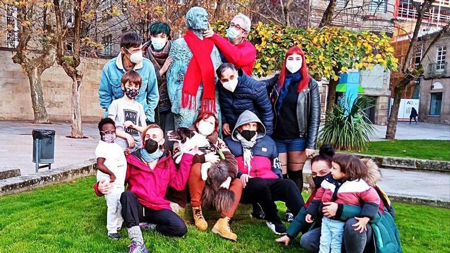 """""""Ourense estima non estigma"""", lema del Día Mundial de la Lucha contra el Sida"""
