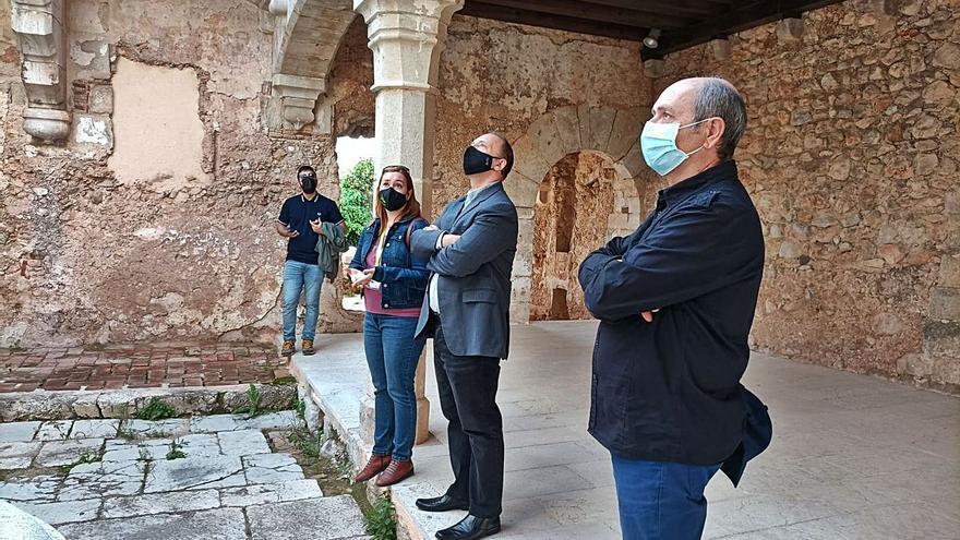 Dalmau impulsará las mejoras en el monasterio de Simat