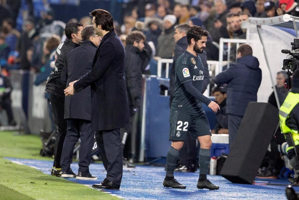 Las imágenes del Leganés - Real Madrid.