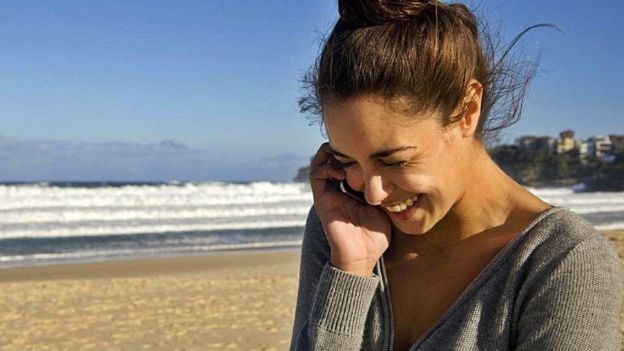Telefónica mejorará la cobertura 5G en dos playas de Ibiza