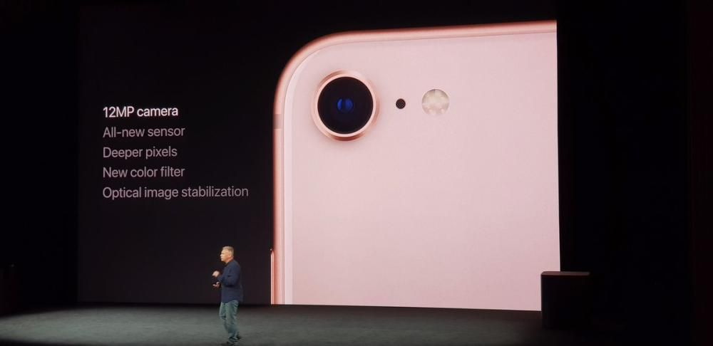 La cámara del nuevo i Phone8.