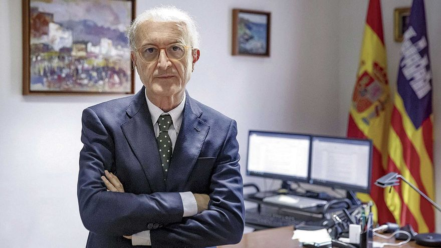 """Antonio Terrasa García: """"En los edificios judiciales de Palma no cabe ya ni un solo juez de refuerzo """""""