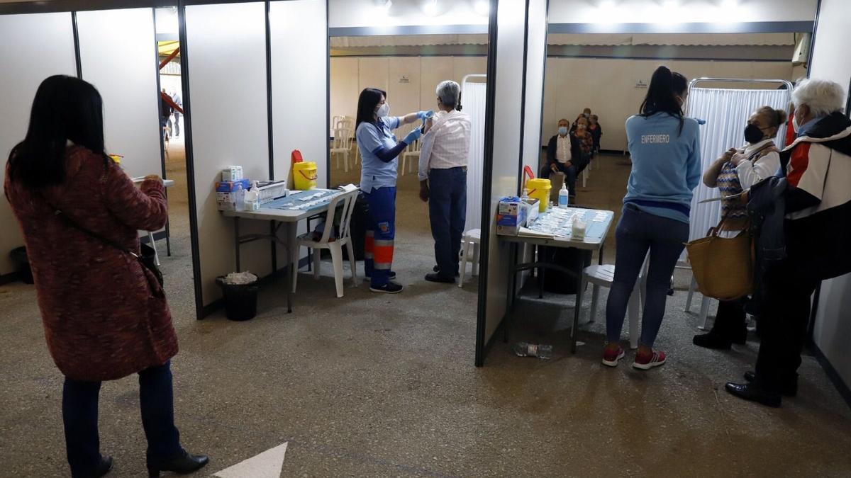 Vacunación este jueves en Vélez-Málaga
