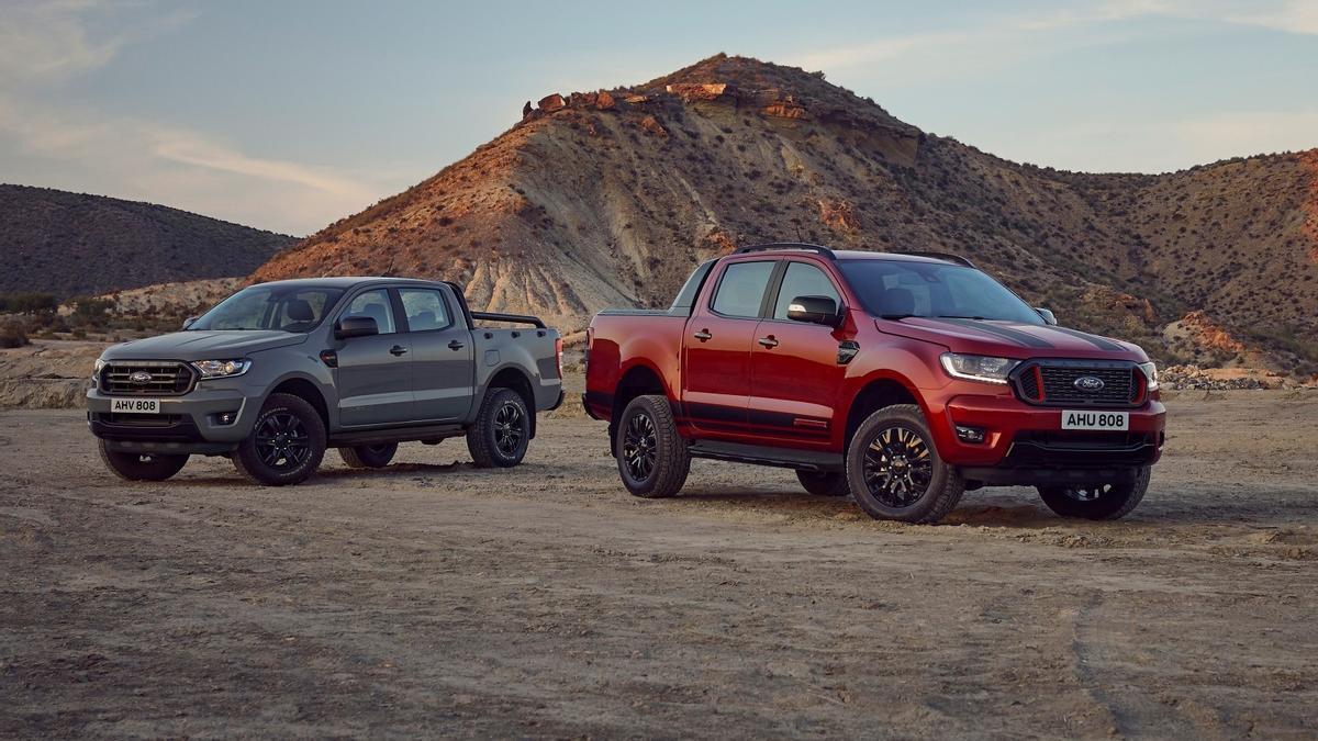 Ford Ranger Raptor Stormtrak y Wolftrak: bella y bestia