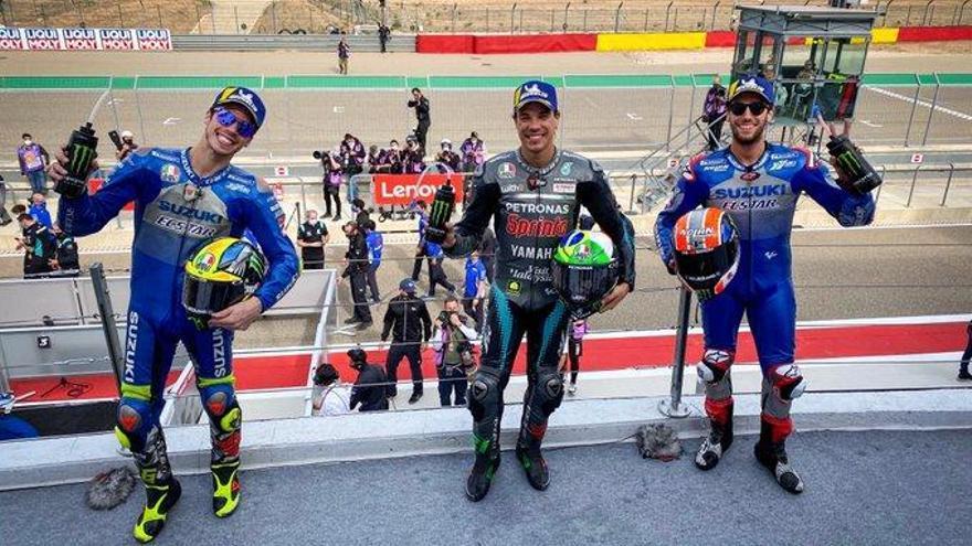 Morbidelli guanya a MotorLand, Viñales és setè i Mir reforça el seu liderat