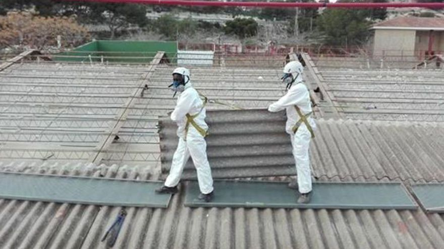 El amianto, un problema a resolver antes de instalar placas solares