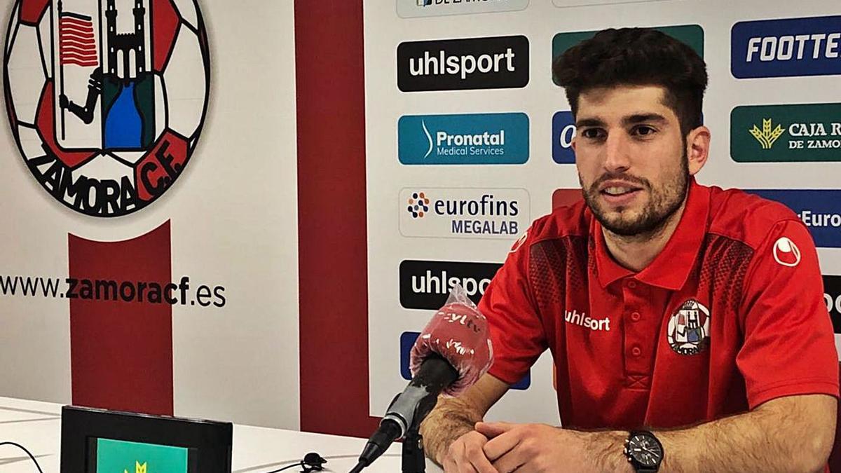 Rodrigo Escudero jugó en las dos últimas temporadas en el Zamora CF. | LOZ