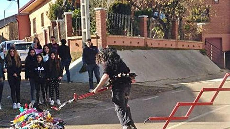 """Los """"demonios"""" embisten en Sarracín"""