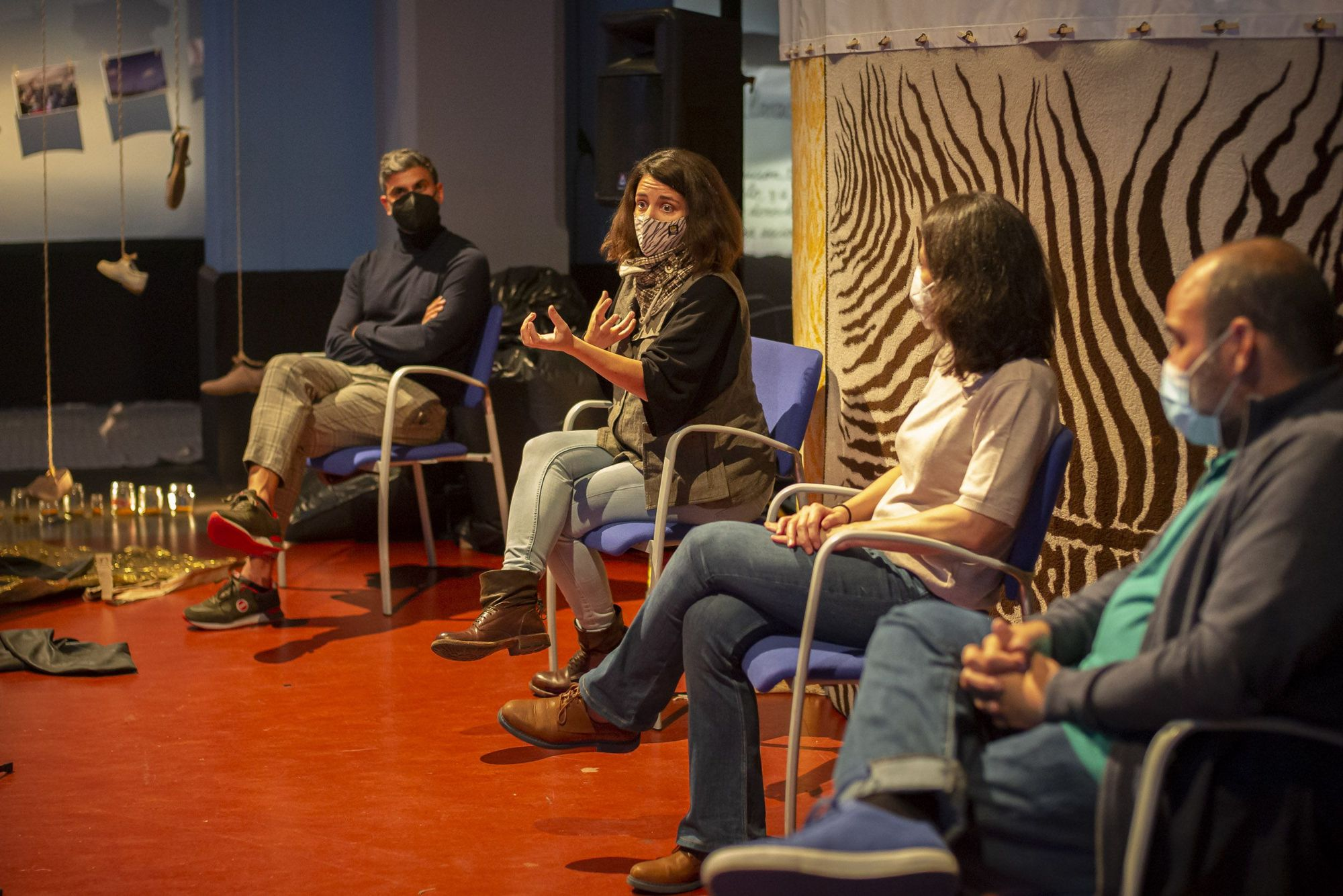 Round table 'Islas Cage' in the Insular Theater Hall