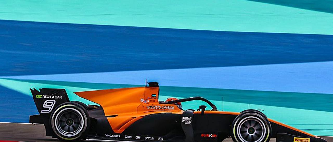 Jack Aitken, durante el GP de Bahrein. | D. VAN DER LAAN