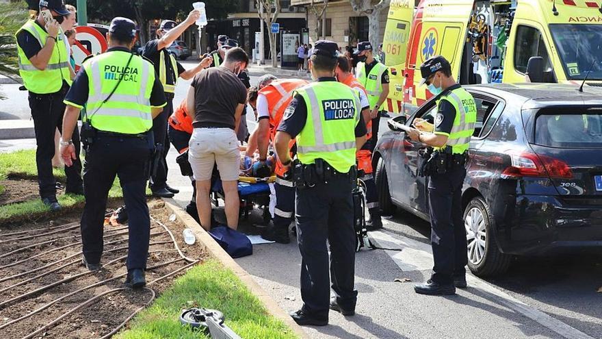 E-Roller-Unfälle: die neue Gefahr auf den Straßen von Mallorca