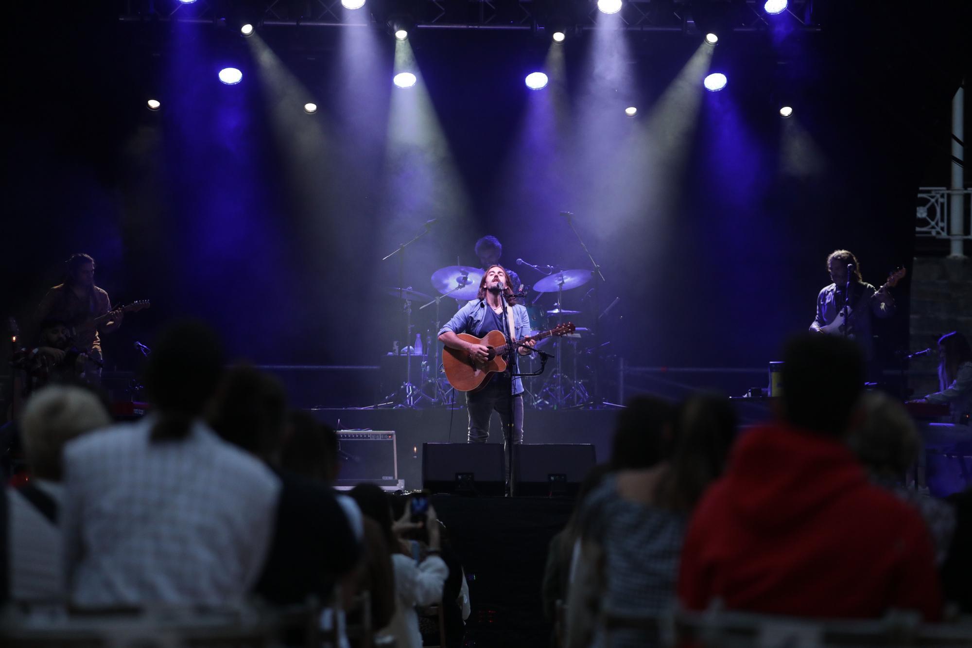 Concierto en Gijón de Andrés Suárez, en el festival Metrópoli
