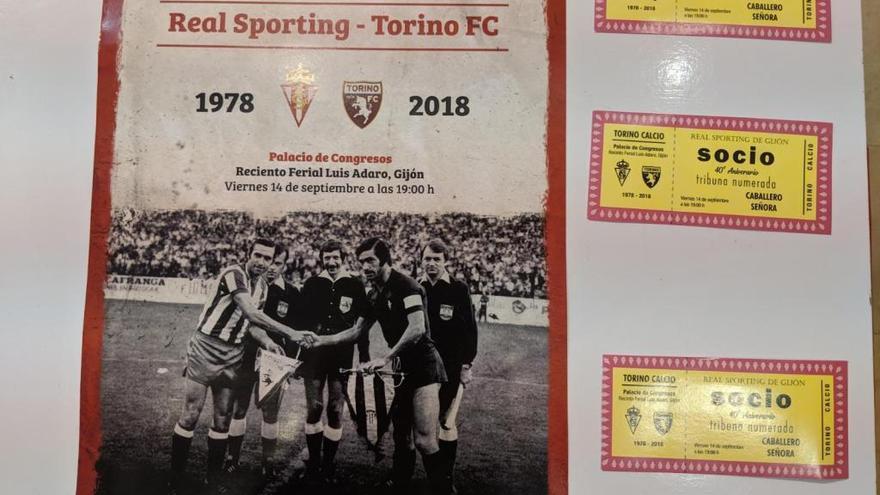 El Sporting homenajeará a la plantilla que debutó en Europa hace 40 años