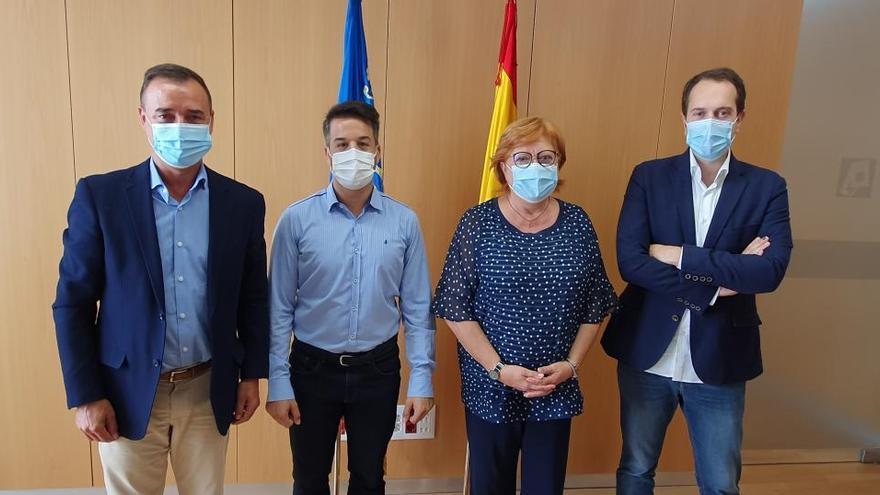 Riba-roja, Cheste y Loriguilla exponen al Gobierno la necesidad de aliviar el acceso a la A-3 y la A-7