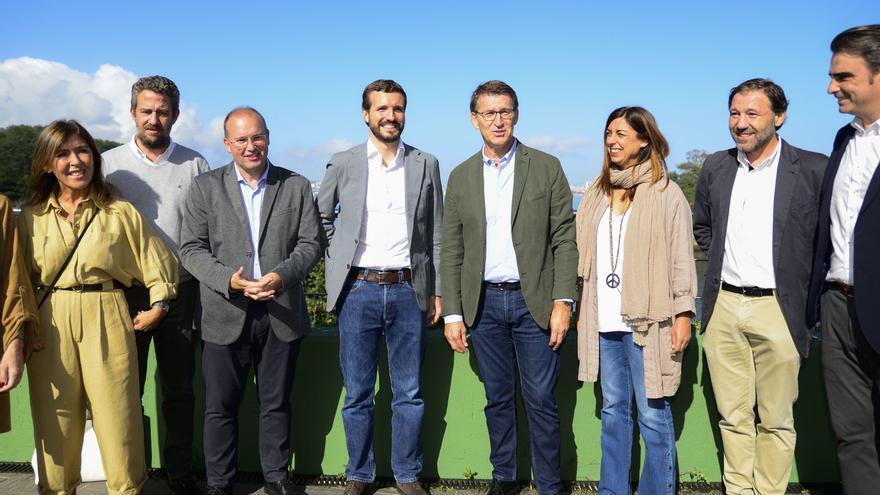 """Feijóo pide a Casado un """"cambio de ciclo"""" en el PP basado en el """"modelo Galicia"""""""