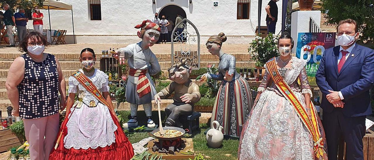La presentación del certamen tuvo lugar, ayer, en la emblemática Muntanyeta dels Sants. | JOAN GIMENO