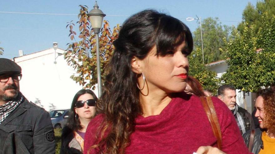 Teresa Rodríguez apoya quitar las estatuas de Colón