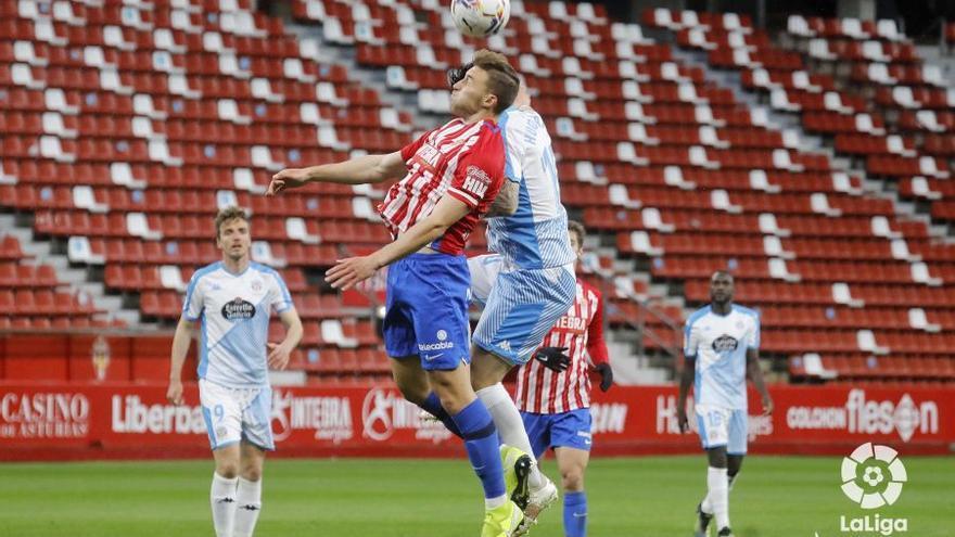 En directo: Gaspar adelanta al Sporting frente al Lugo