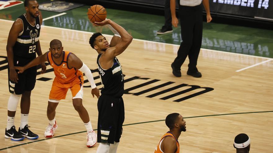 Los Milwaukee Bucks, campeones de la NBA