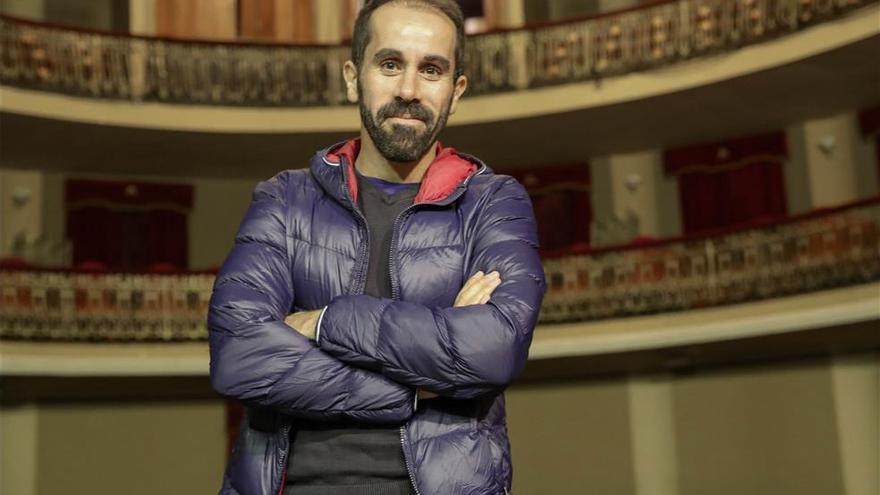 La compañía de Daniel Abreu presenta en el Teatro Góngora La Desnudez