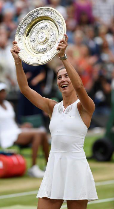 Garbiñe Muguruza, campeona de Wimbledon