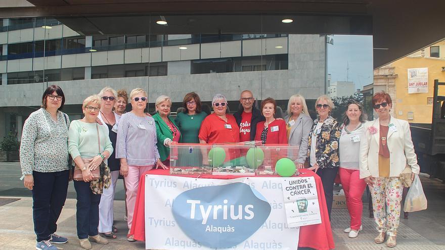 Tyrius Alaquàs animan a participar en la campaña contra el cáncer