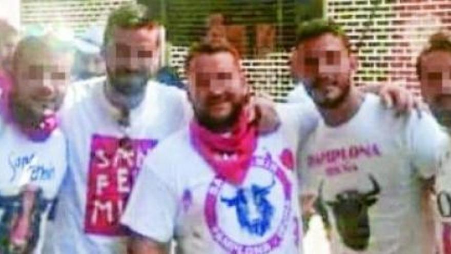Procesan a los presuntos violadores de San Fermín