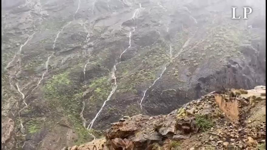El espectáculo del agua en Gran Canaria