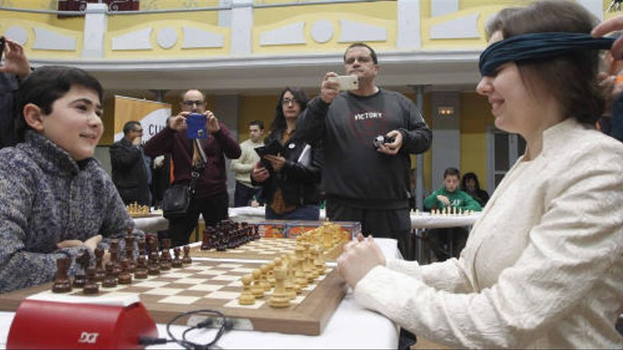 Mariya Muzychuk gana su partida 'a la ciega'