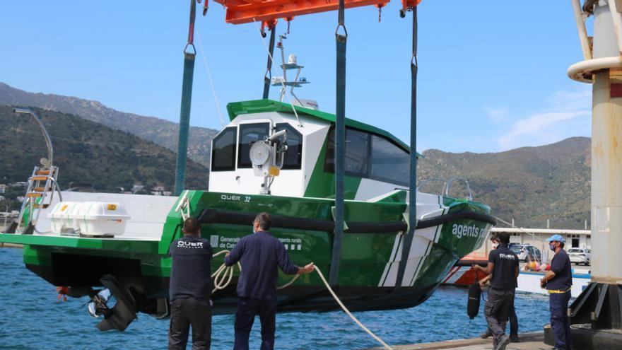 Els Agents Rurals estrenen una embarcació híbrida per vigilar «tots els racons» de la Costa Brava