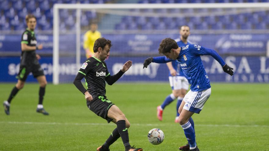 Un flojo Oviedo cae ante el Leganés en el Tartiere (1-3) y dice adiós al sueño del play-off